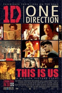 Póster oficial de 'One Direction: This is Us'