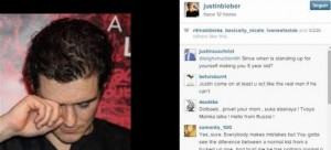 Justin Bieber sigue provocando a Orlando Bloom