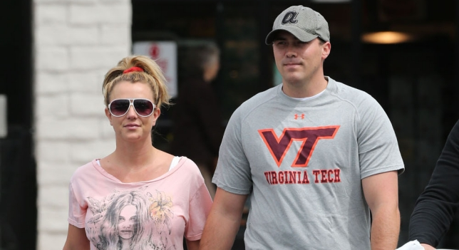 Britney Spears ha roto con su novio David Lucado 1