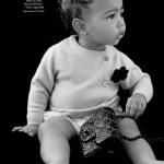 North West, la hija de Kim Kardashian modelo de revista