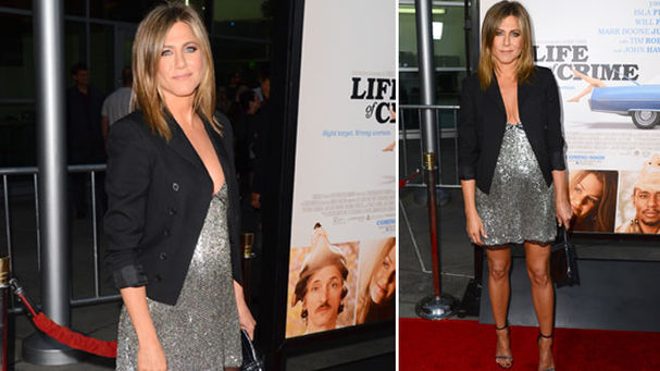 Jennifer Aniston embarazada de tres meses 1